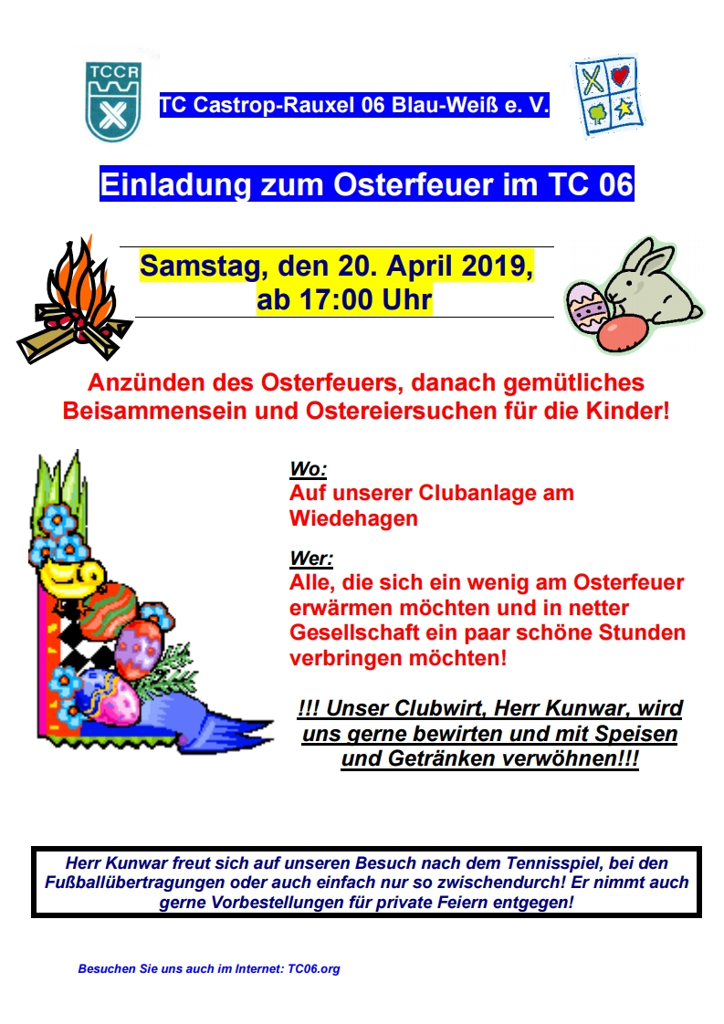 2019 04 20 Osterfeuer